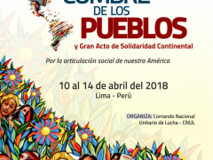 Popular movements from across the hemisphere voiced solidarity with Venezuela, Cuba, Brazil's Lula da Silva, and a multitude of other global grassroots struggles